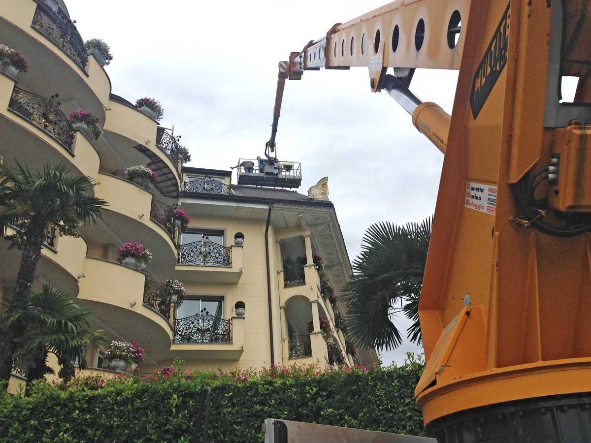 Interventi di manutenzione presso villa aminta a stresa - Interventi di manutenzione ...
